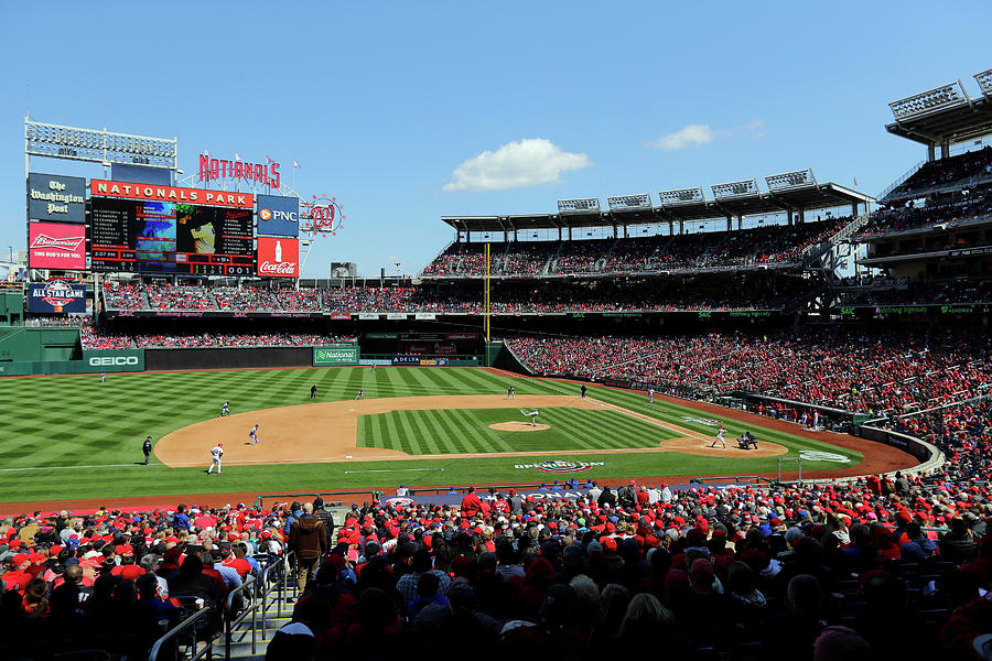 New York Mets V. Washington Nationals Photograph by Alex Trautwig