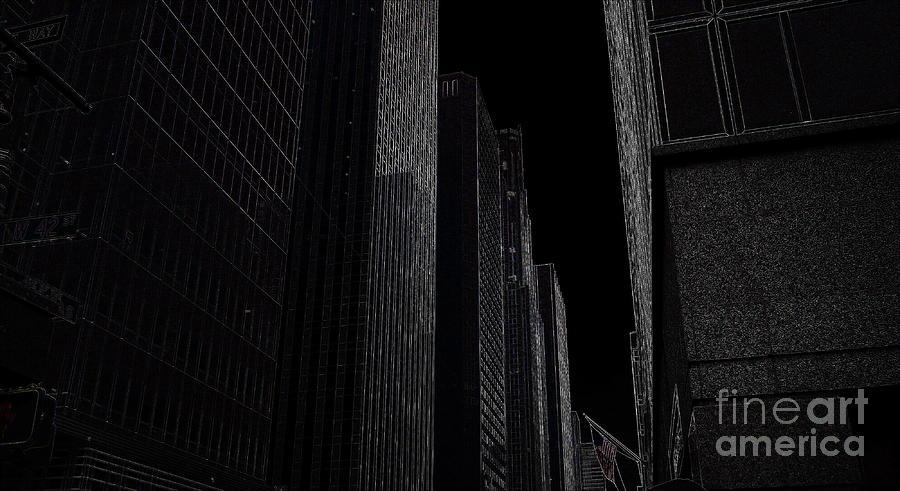 New York Photograph - New York by Nancie DeMellia