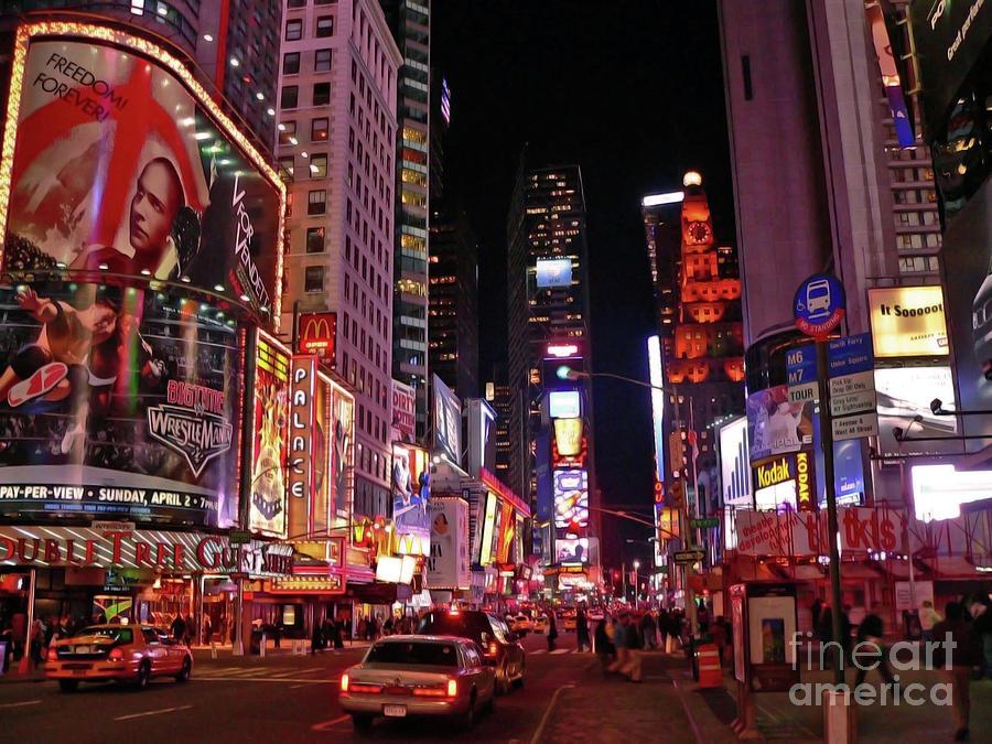 New York Photograph - New York New York by Angela Wright