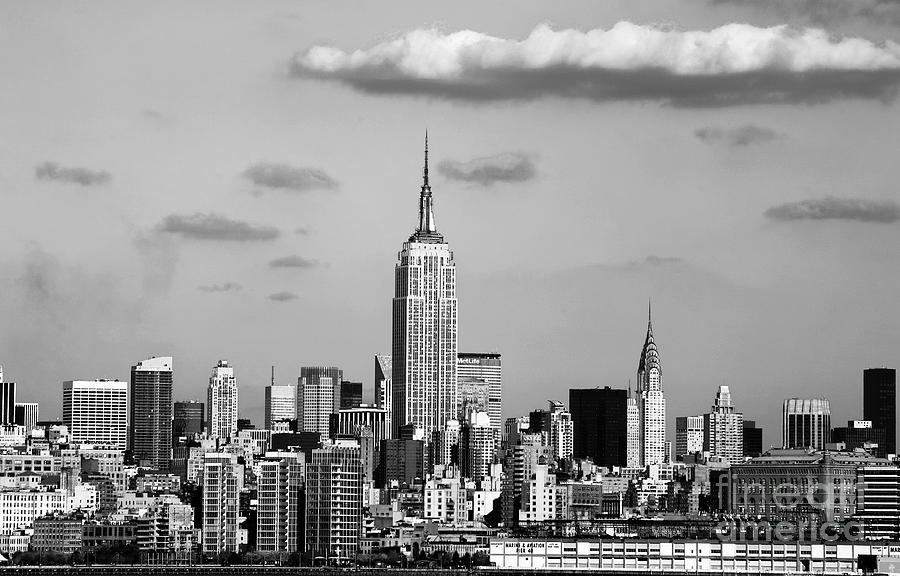 New York New York Photograph - New York New York by John Rizzuto