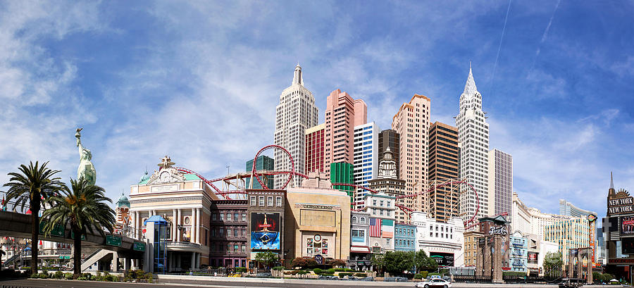 America Photograph - New York New York Las Vegas by Jane Rix