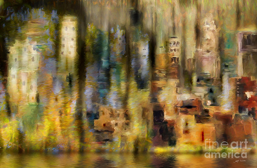 New York City Painting - New York  New York Mixed Media Painting by Heinz G Mielke