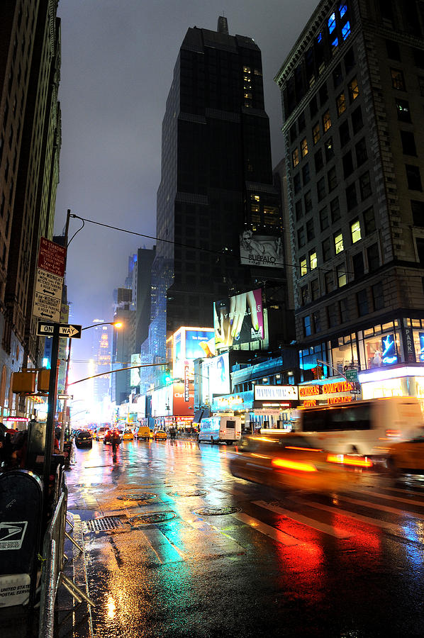New York Photograph - New York Night by Stephen Richards
