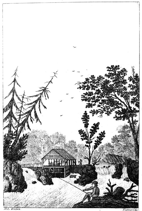 1792 Painting - New York Saw Mill, 1792 by Granger