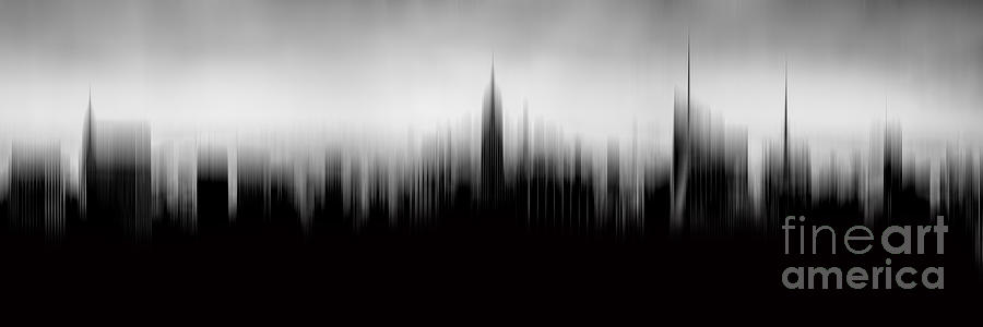 Empire State Building Photograph - New York Skyline Abstract by Az Jackson