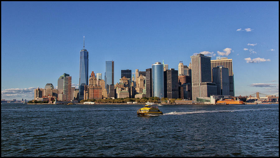 New York Skyline Photograph by S. Goerner