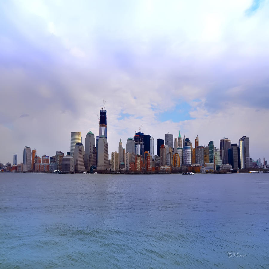 New York - Standing Tall Photograph - New York - Standing Tall by Bill Cannon