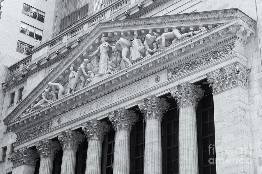 America Photograph - New York Stock Exchange II by Clarence Holmes