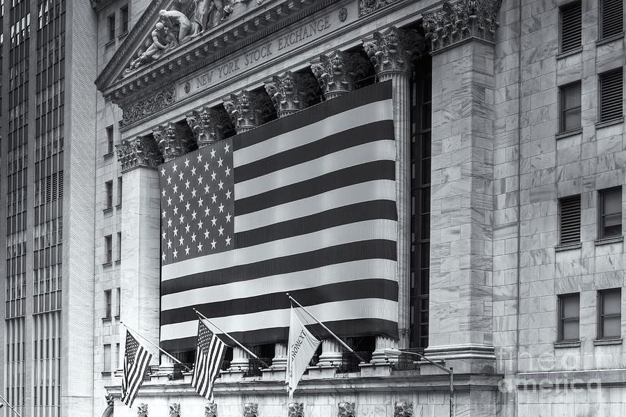 Clarence Holmes Photograph - New York Stock Exchange Iv by Clarence Holmes