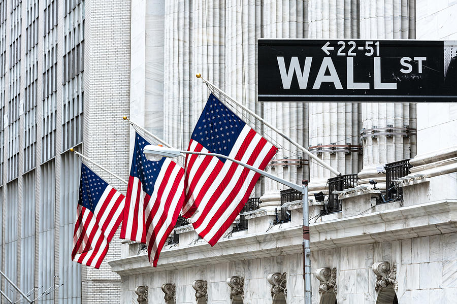 New York Stock Exchange, Wall st, New York, USA Photograph by Matteo Colombo