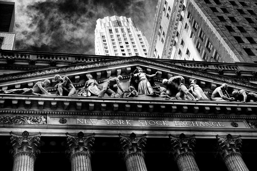 Architecture Photograph - New York Stock Exchange by Jose Maciel