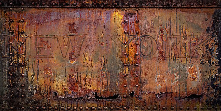 New York-subway Car Side Photograph by Joe Gemignani