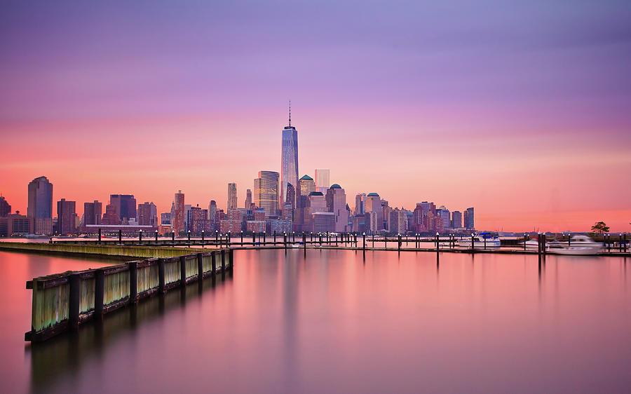 New York Sunrise Photograph by Yogesh Arora