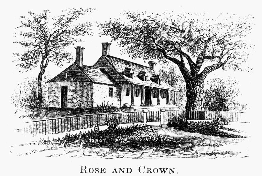 1776 Photograph - New York: Tavern, C1776 by Granger