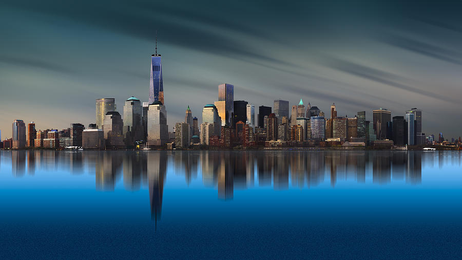 Architecture Photograph - New York World Trade Center 1 by Yi Liang
