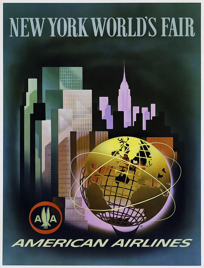 New York Photograph - New York Worlds Fair by Mark Rogan