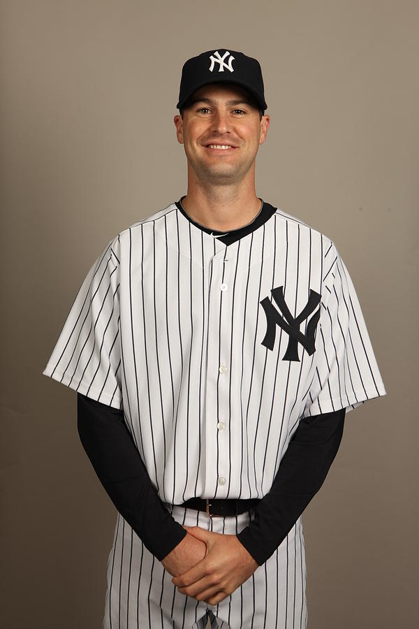 New York Yankees Photo Day Photograph by Robert Rogers