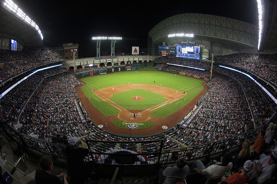 New York Yankees V Houston Astros Photograph by Bob Levey