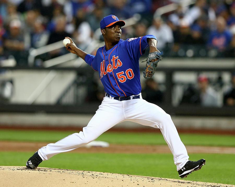 New York Yankees V New York Mets Photograph by Elsa