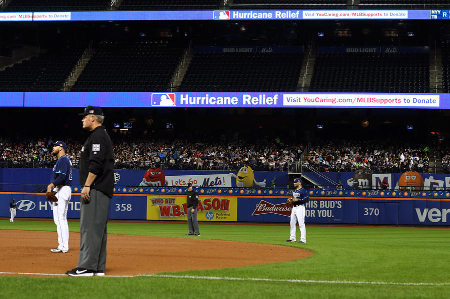 New York Yankees v. Tampa Bay Rays Photograph by Alex Trautwig
