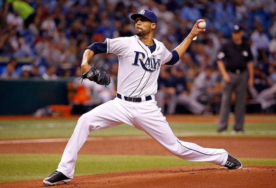 New York Yankees V Tampa Bay Rays Photograph by J. Meric