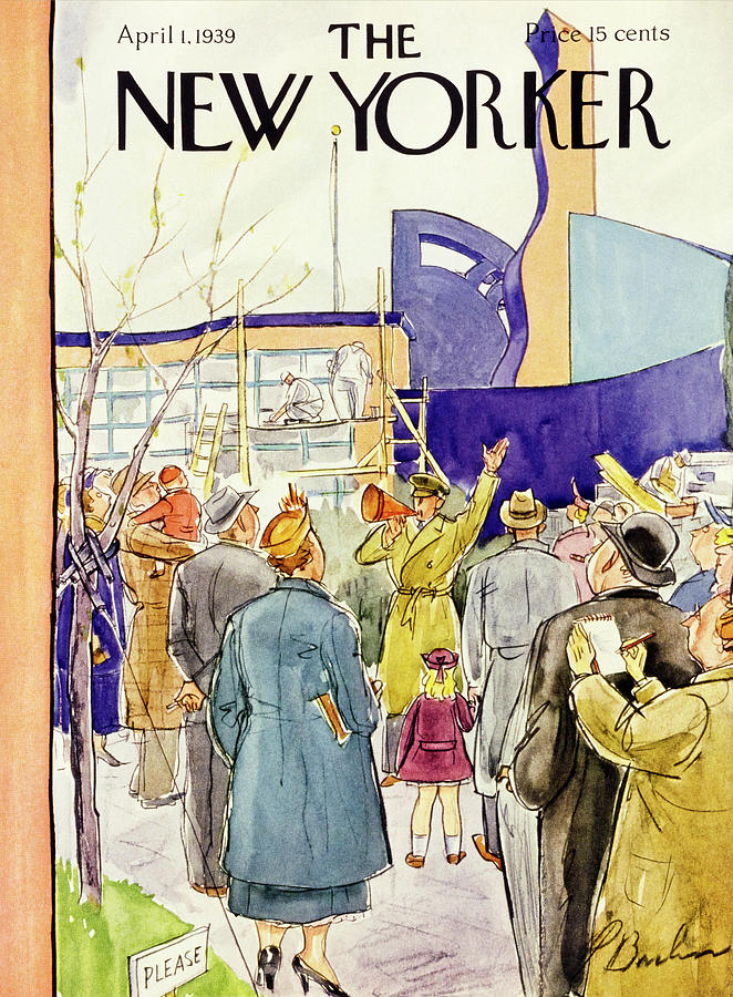 New Yorker April 1 1939 Painting by Perry Barlow