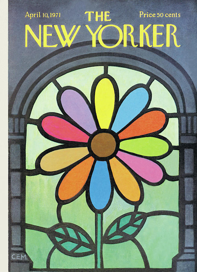 New Yorker April 10th, 1971 Painting by Charles E Martin