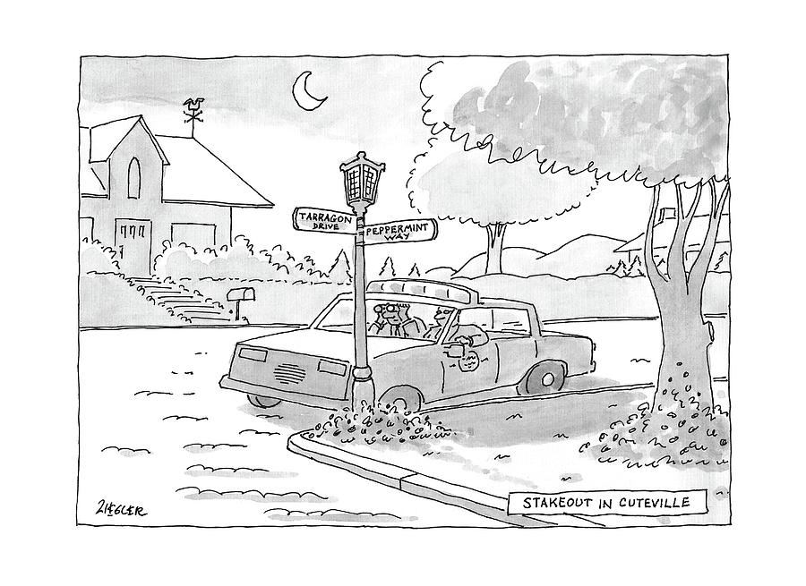 New Yorker April 10th, 2017 Drawing by Jack Ziegler