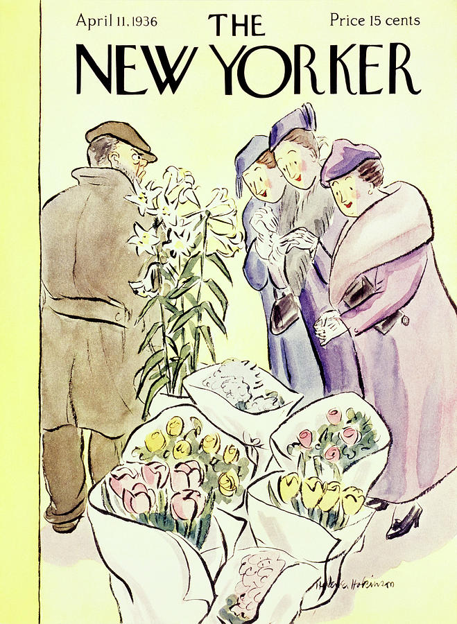 New Yorker April 11 1936 Painting by Helene E Hokinson