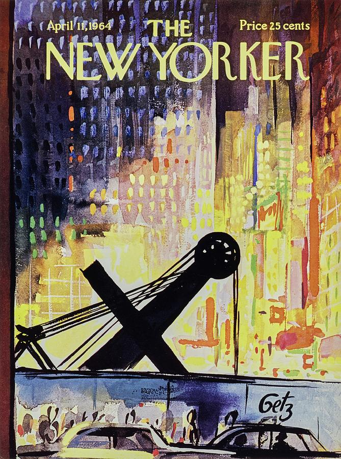 New Yorker April 11th 1964 Painting by Arthur Getz