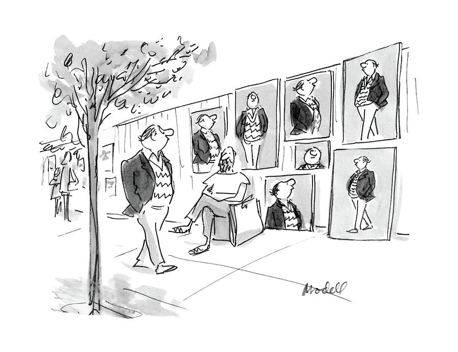 New Yorker April 11th, 1988 Drawing by Frank Modell