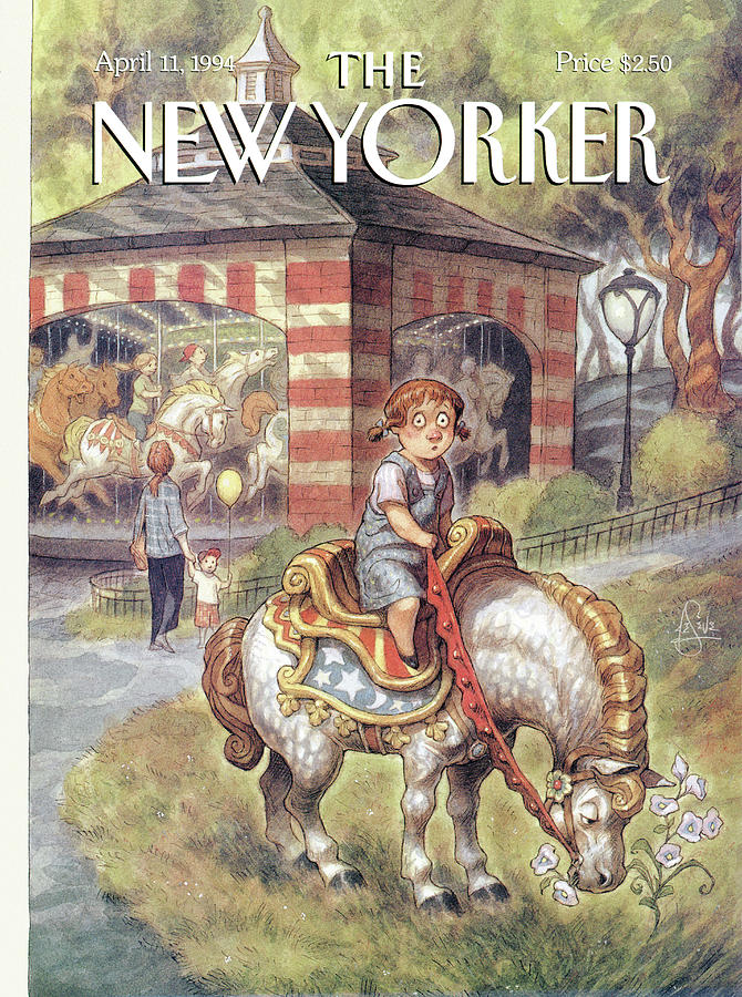 New Yorker April 11th, 1994 Painting by Peter de Seve