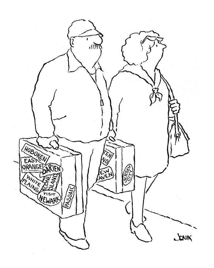 New Yorker April 12th, 1976 Drawing by John Jonik