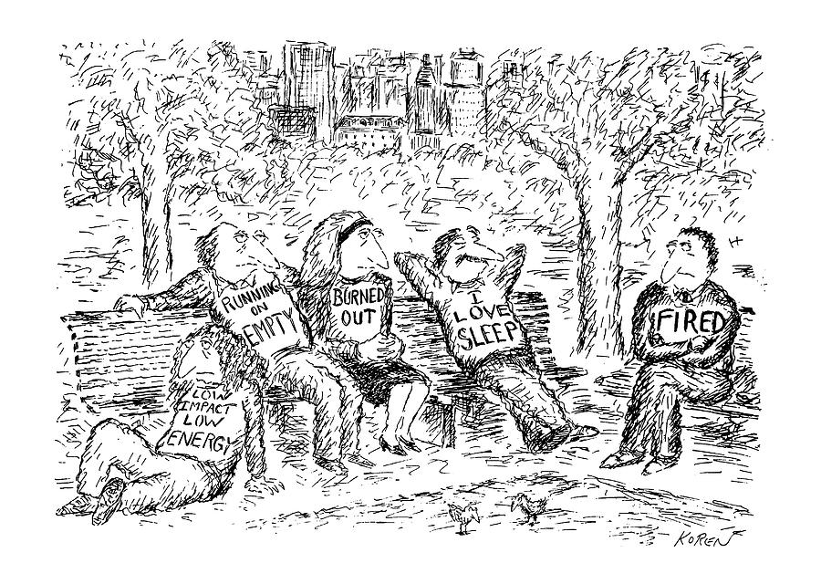New Yorker April 13th, 1992 Drawing by Edward Koren