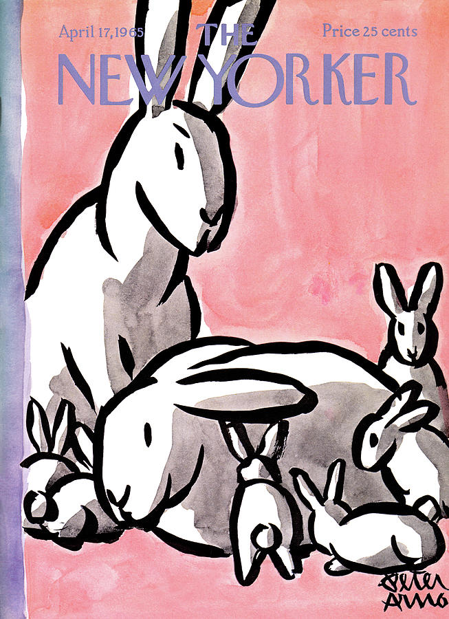 New Yorker April 17th, 1965 Painting by Peter Arno