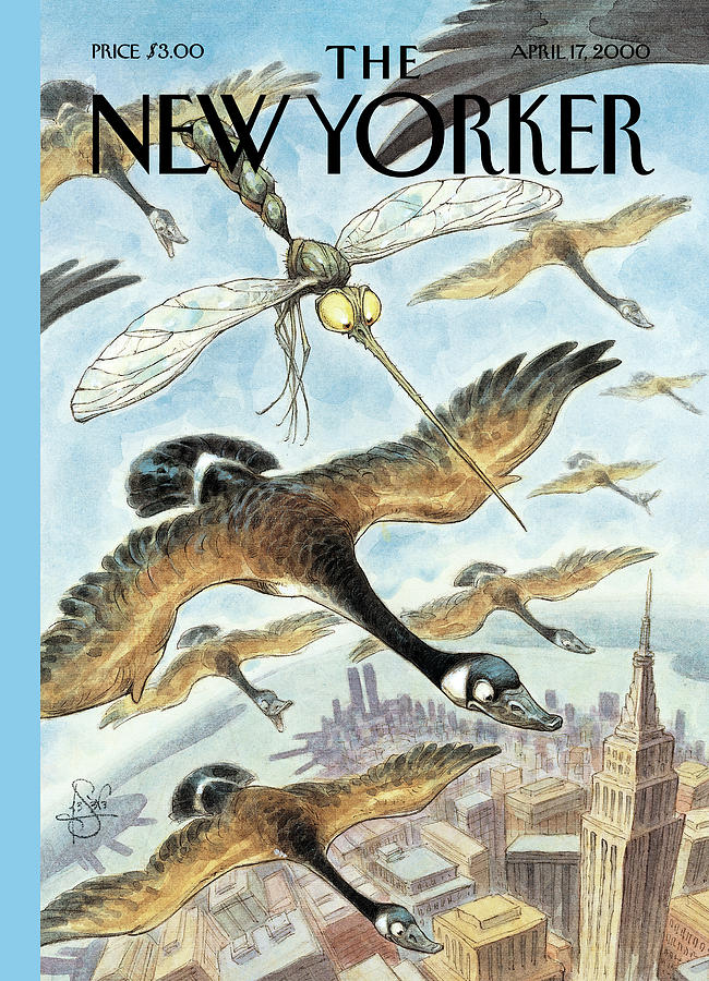 New Yorker April 17th, 2000 Painting by Peter de Seve