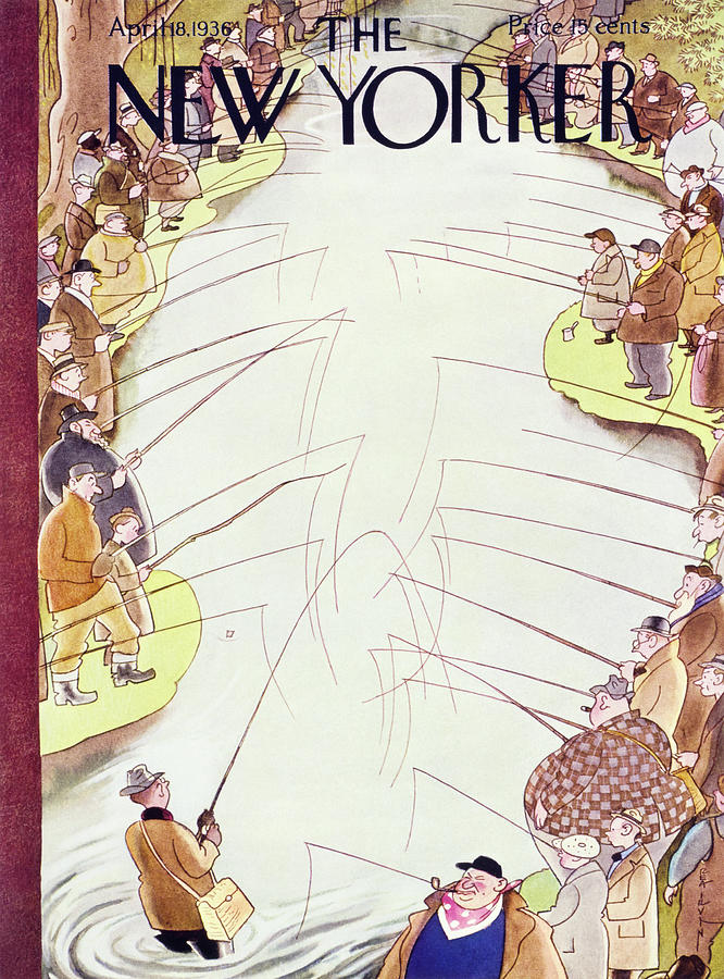 New Yorker April 18 1936 Painting by Rea Irvin
