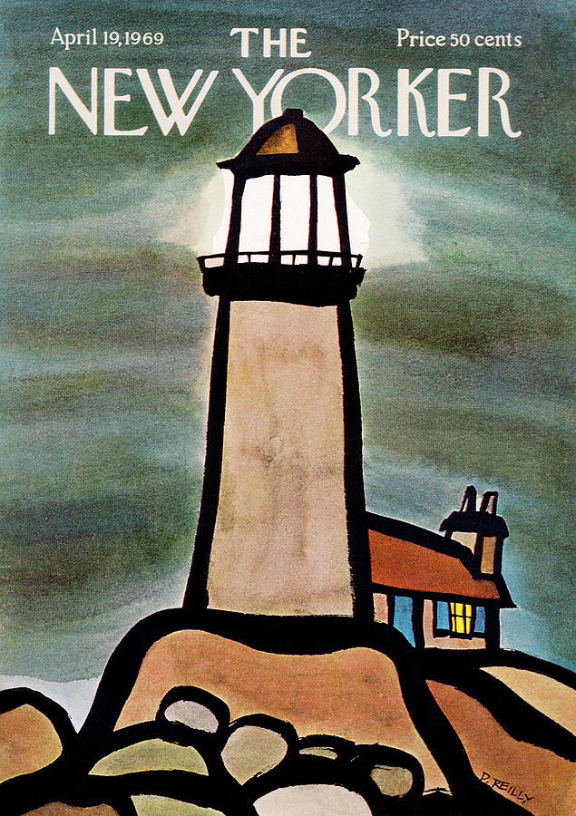 New Yorker April 19th, 1969 Painting by Donald Reilly