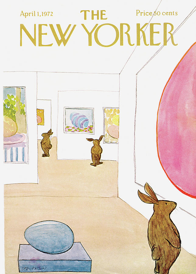 New Yorker April 1st, 1972 Painting by James Stevenson
