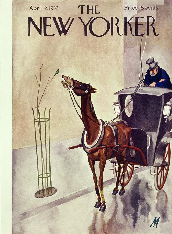 New Yorker April 2 1932 Painting by Julian De Miskey