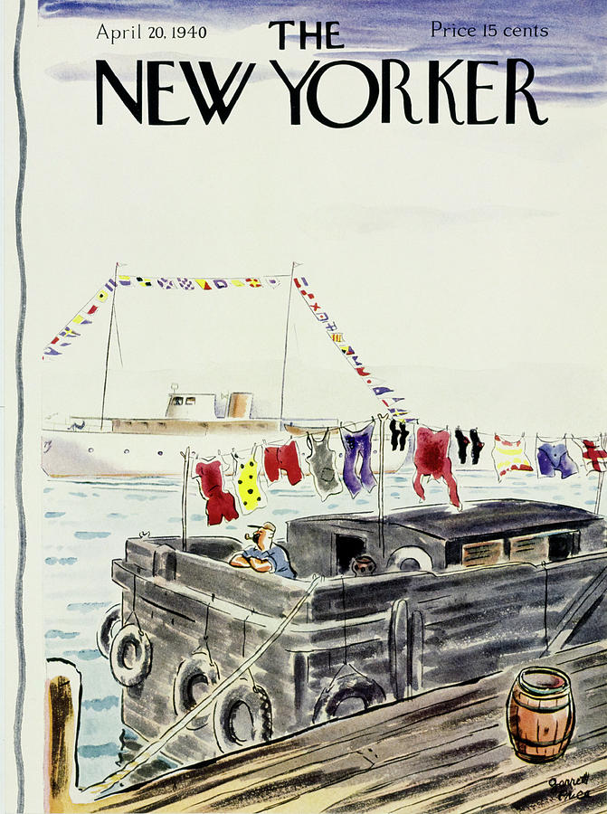 New Yorker April 20 1940 Painting by Garrett Price