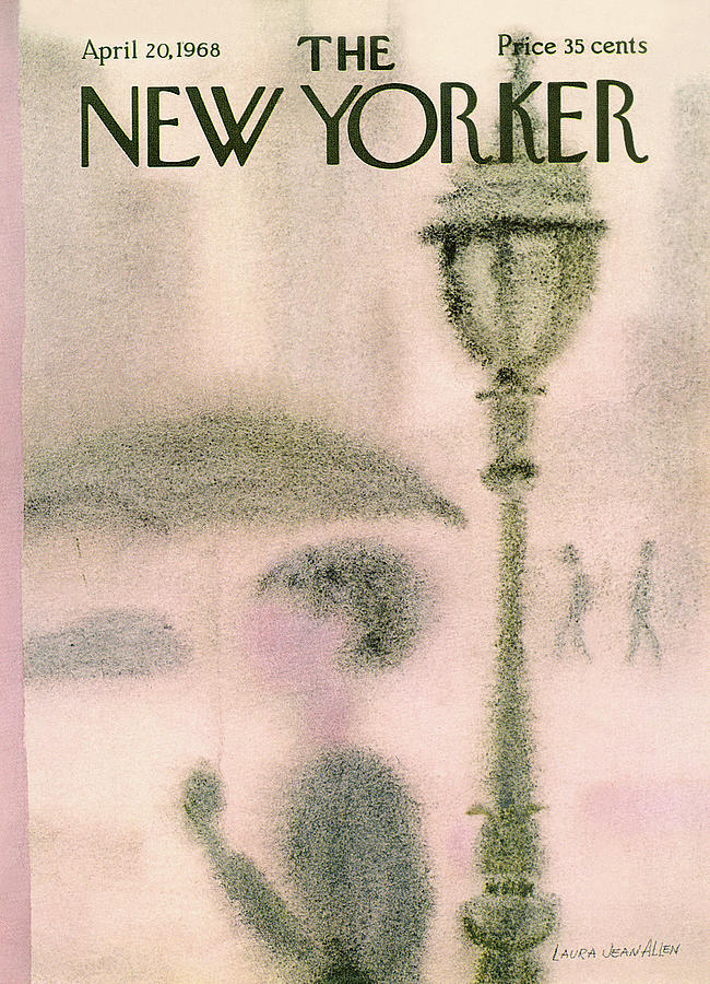 New Yorker April 20th, 1968 Painting by Laura Jean Allen
