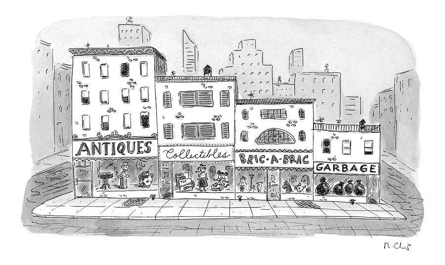 New Yorker April 20th, 1998 Drawing by Roz Chast