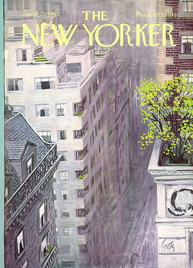 New Yorker April 22nd, 1967 Painting by Arthur Getz