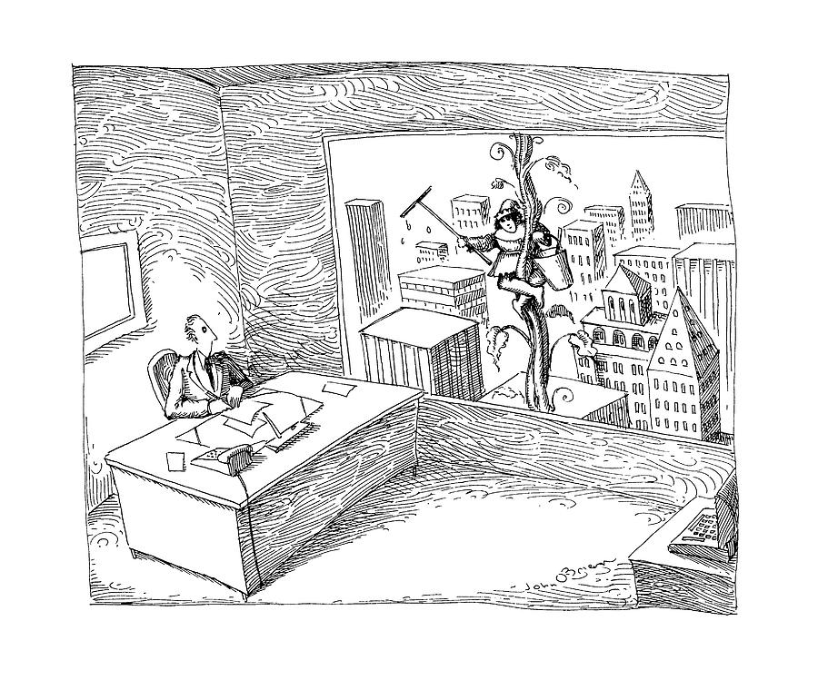 New Yorker April 22nd, 1991 Drawing by John OBrien