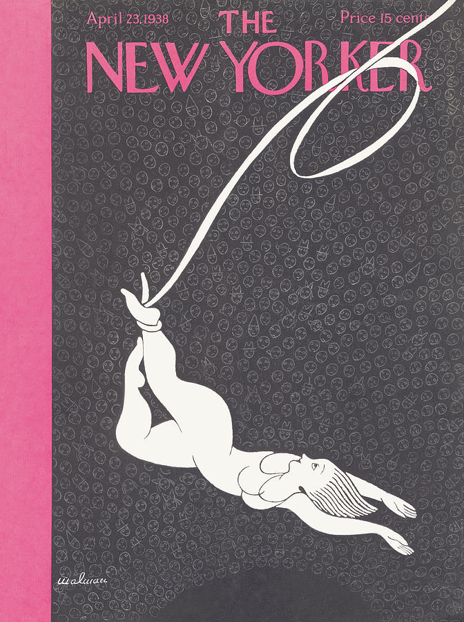 New Yorker April 23 1938 Painting by Christina Malman