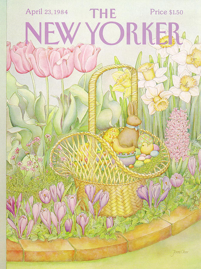 New Yorker April 23rd, 1984 Painting by Jenni Oliver