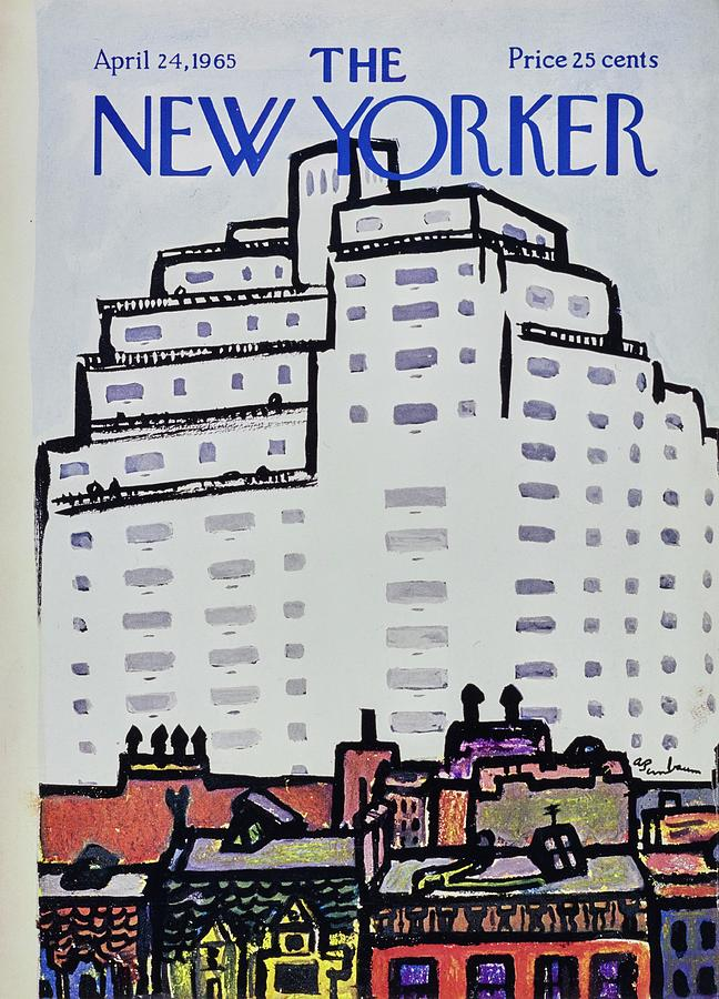 New Yorker April 24th 1965 Painting by Aaron Birnbaum