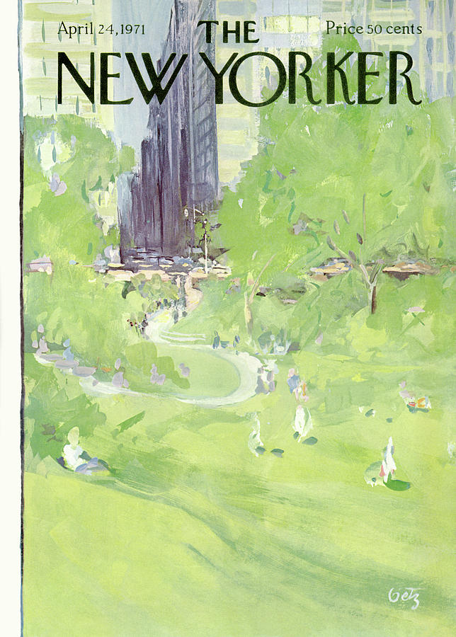 New Yorker April 24th, 1971 Painting by Arthur Getz
