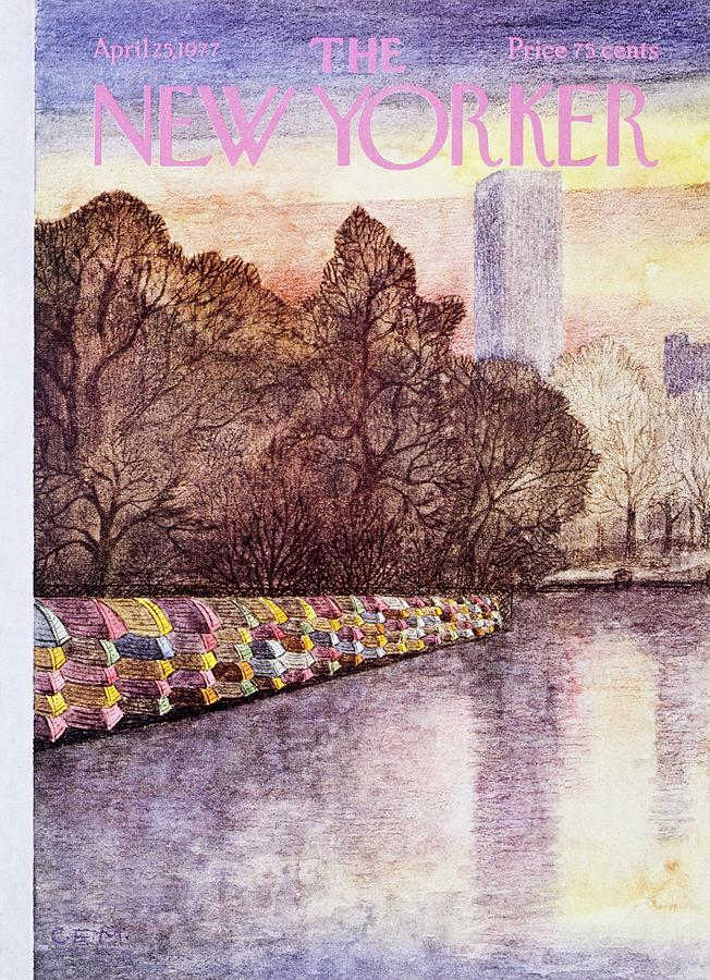 New Yorker April 25th 1977 Painting by Charles Martin